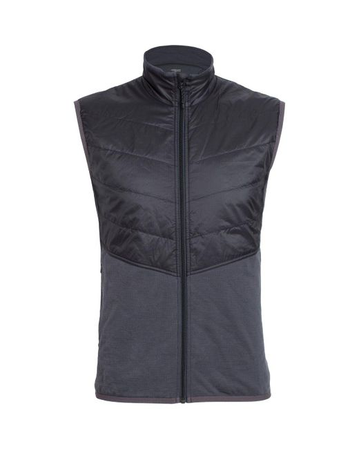 Icebreaker - Black Ellipse Vest for Men - Lyst
