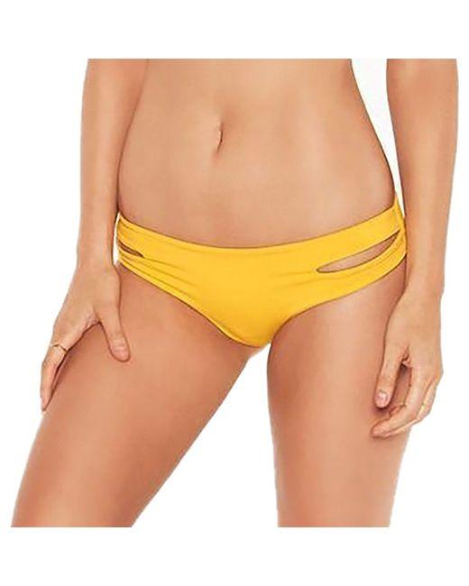 L*Space - Yellow Estella Bikini Bottom - Lyst