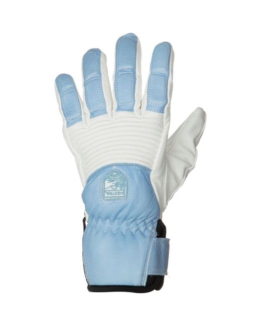 Hestra - Blue Leather Fall Line Glove - Lyst
