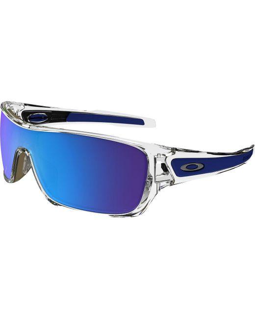 af37863b98 Lyst - Oakley Turbine Rotor Sunglasses in Blue for Men