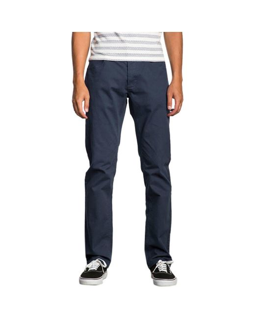 RVCA - Blue Stay Pant for Men - Lyst