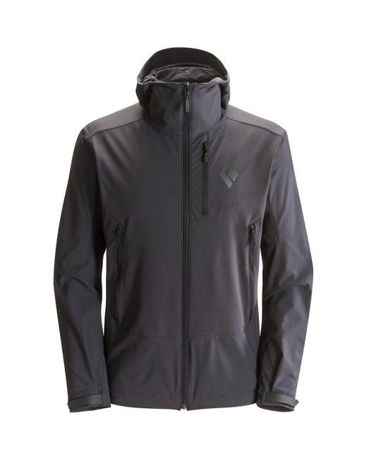 Black Diamond   Gray Dawn Patrol Softshell Jacket for Men   Lyst
