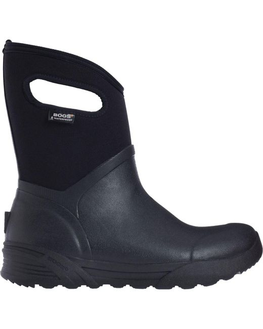 Bogs | Black Bozeman Mid Boot | Lyst