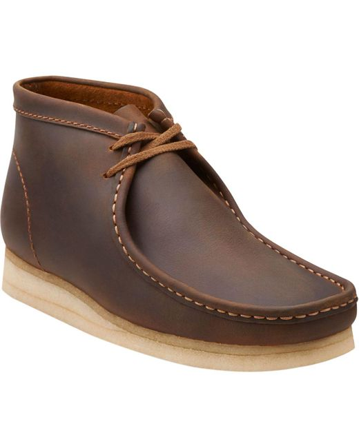 Clarks | Brown Wallabee Boot for Men | Lyst