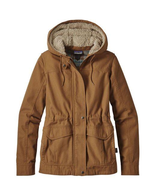 Patagonia | Brown Prairie Dawn Jacket for Men | Lyst