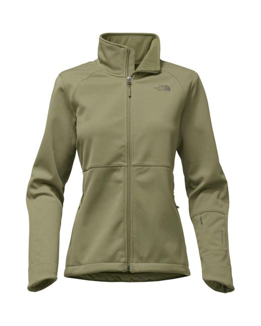 The North Face | Green Apex Risor Softshell Jacket | Lyst