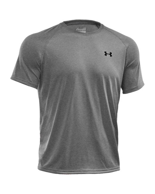 Under Armour | Gray Short-sleeve Tech Tee for Men | Lyst