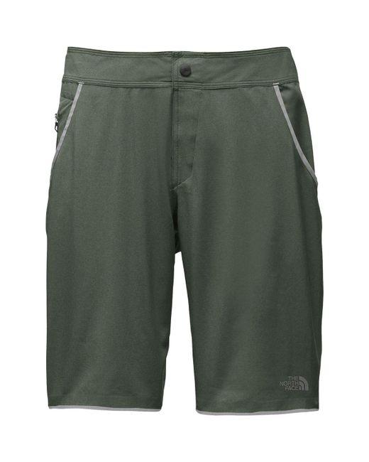 The North Face - Green Kilowatt Pro Short for Men - Lyst