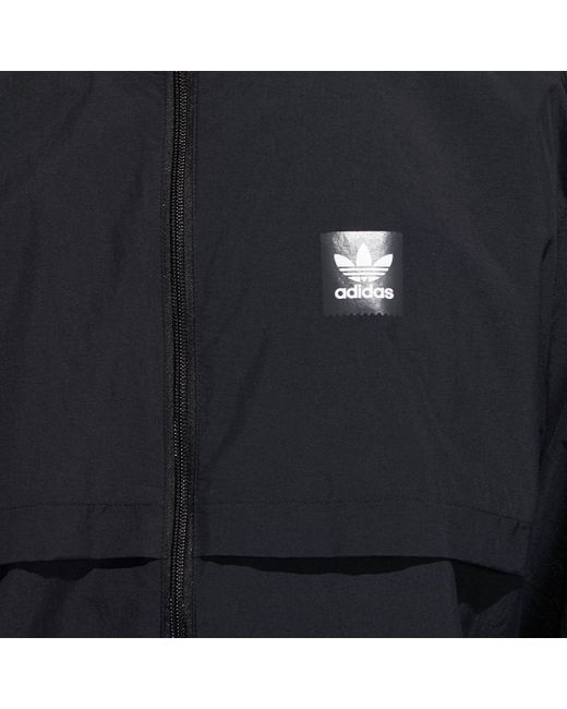 7c2a335f21bd4 ... Adidas - Black Class Action Jacket for Men - Lyst ...