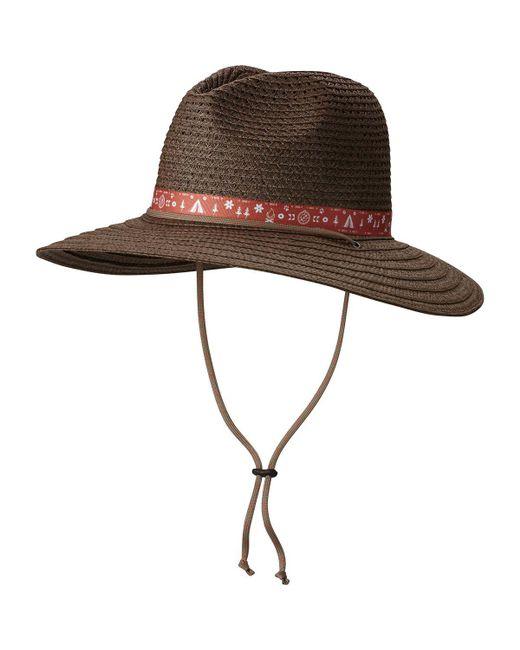 Columbia - Brown Bella Falls Straw Hat - Lyst