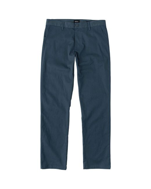 RVCA - Blue Weekend Stretch Pant for Men - Lyst