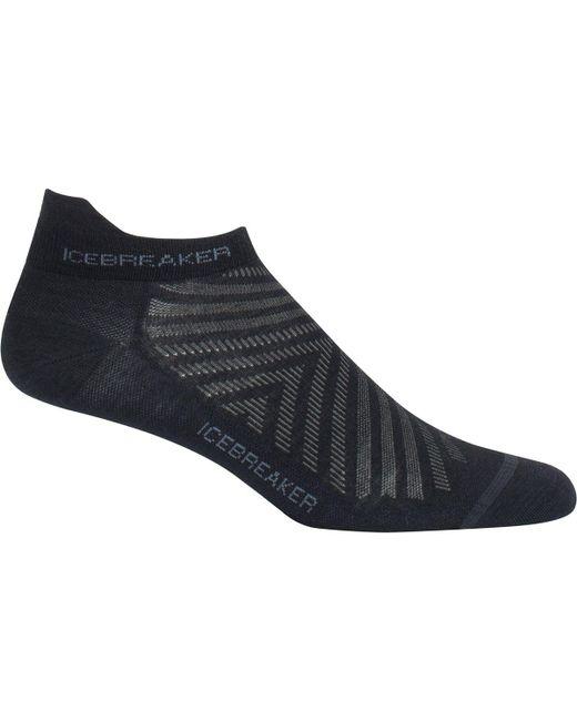 Icebreaker - Black Run Plus Ultra Light Anatomical Micro Sock for Men - Lyst