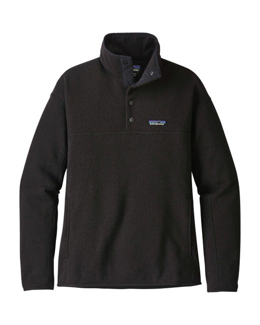 Patagonia - Black Lightweight Better Sweater Marsupial Pullover Jacket for Men - Lyst