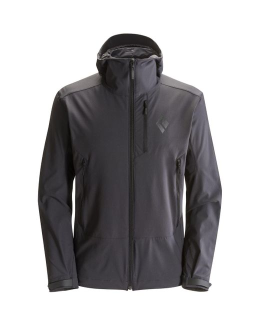 Black Diamond | Gray Dawn Patrol Softshell Jacket for Men | Lyst
