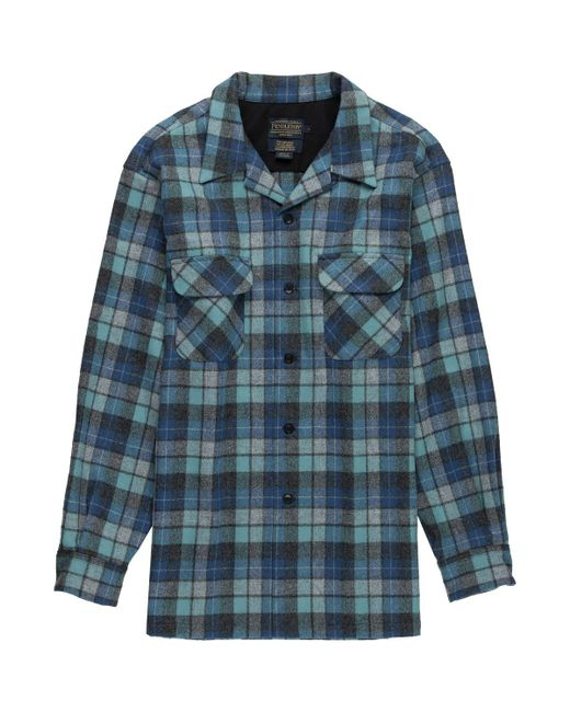 Pendleton - Blue Board Shirt for Men - Lyst