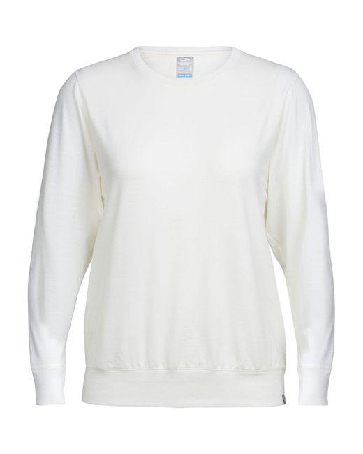 Icebreaker - White Mira Long-sleeve Crewe Top - Lyst