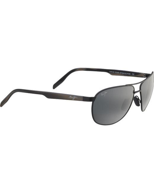 48e04c96e0 Lyst - Maui Jim Castles Sunglasses - Polarized in Gray for Men