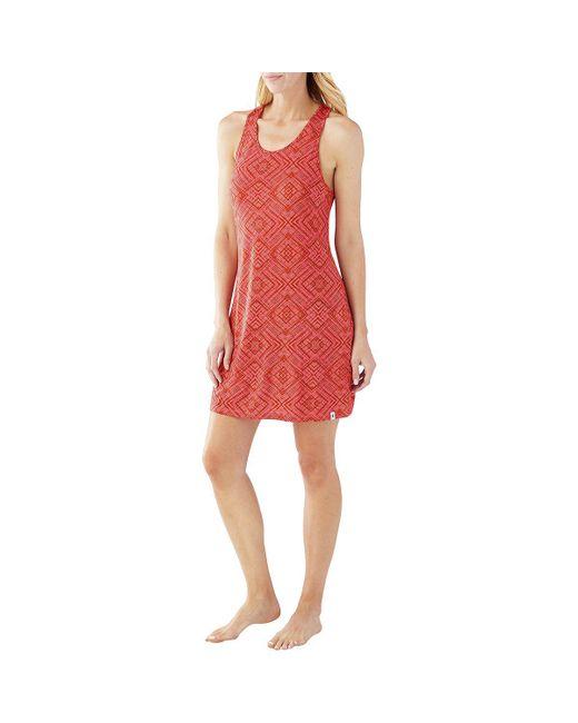 Smartwool - Red Basic Merino 150 Pattern Dress - Lyst