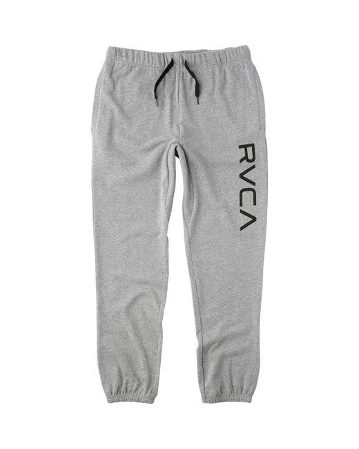 RVCA - Gray Big Sweat Pant for Men - Lyst