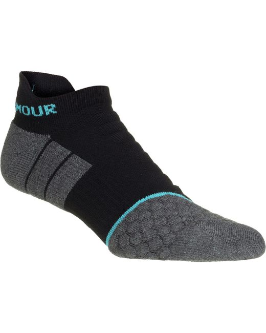 Under Armour - Black Allseason Cool No Show Tab Sock for Men - Lyst