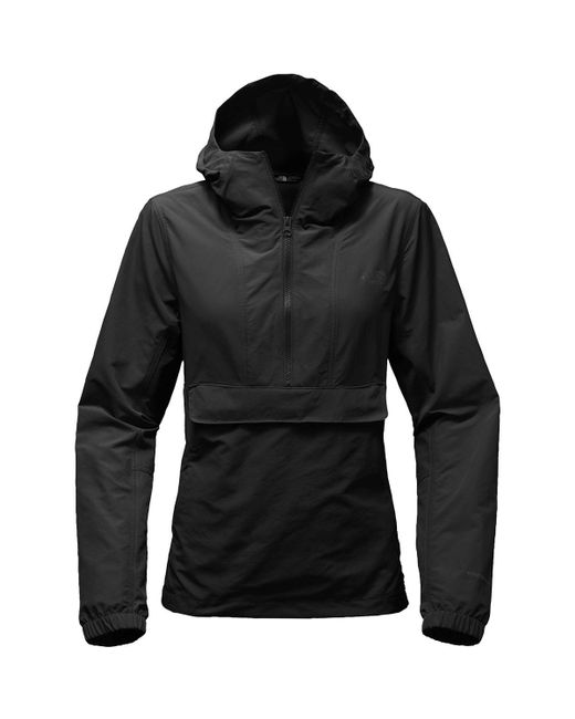 The North Face - Black Crew Run Wind Anorak Jacket for Men - Lyst