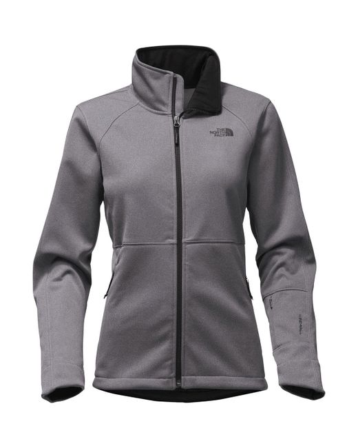 The North Face - Gray Apex Risor Softshell Jacket - Lyst