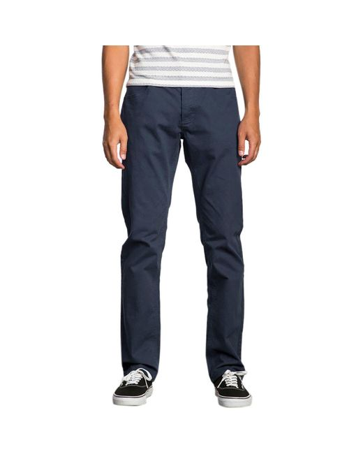 RVCA | Blue Stay Pant for Men | Lyst