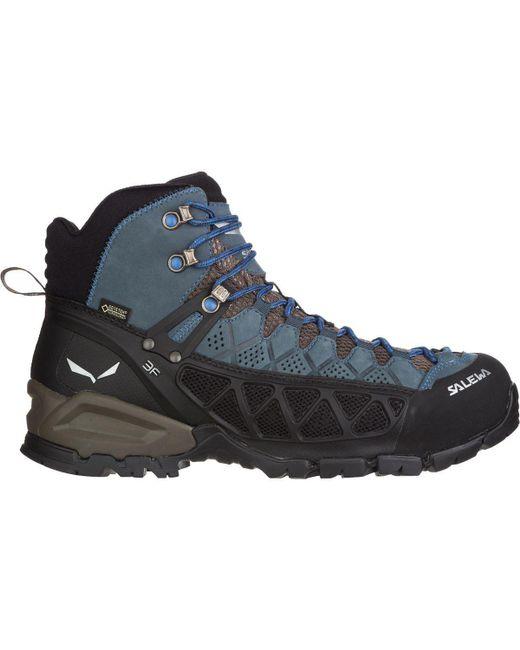 Salewa - Blue Alp Flow Mid Gtx Hiking Boot for Men - Lyst