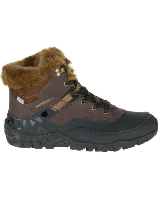 Merrell | Brown Aurora 6 Ice Plus Waterproof Winter Boot | Lyst