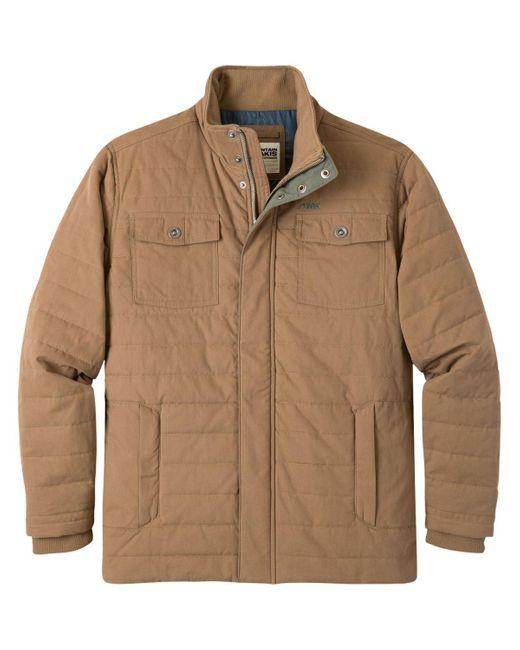 Mountain Khakis Brown Swagger Jacket for men