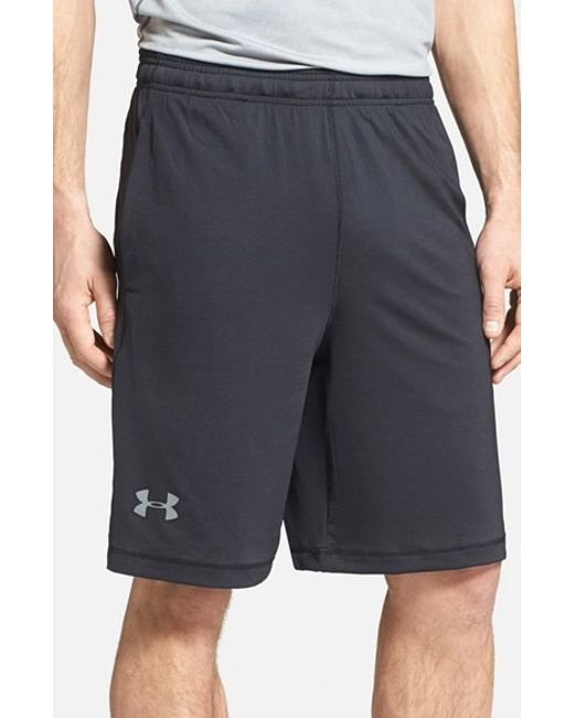 Under Armour | Black 'raid' Heatgear Loose-fit Athletic Shorts for Men | Lyst