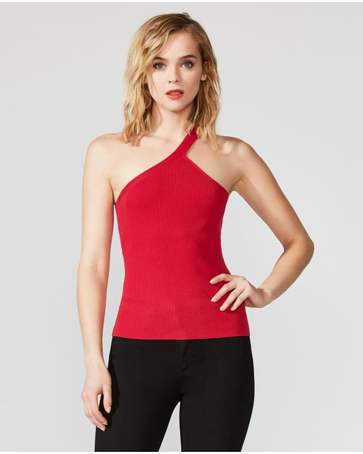 Bailey 44 - Red Natasha One Shoulder Sweater - Lyst