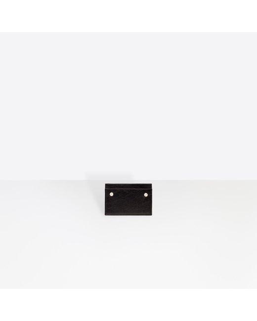 Balenciaga - Black Classic Single Card for Men - Lyst