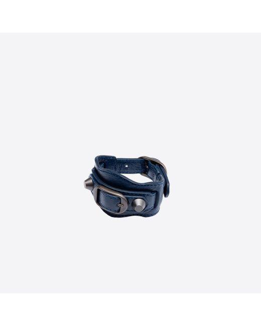 Balenciaga | Blue Classic Bracelet | Lyst