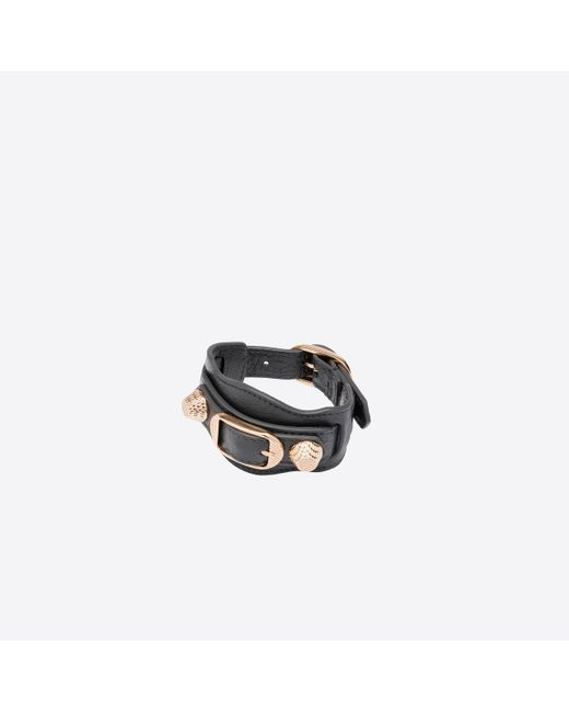 Balenciaga | Gray Giant Gold Bracelet | Lyst