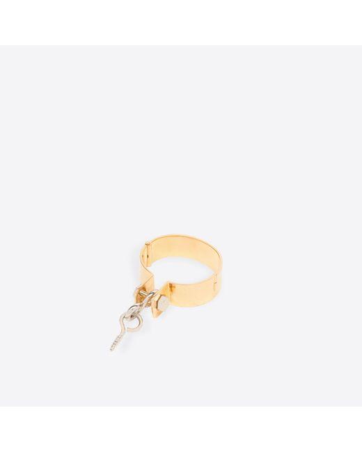 Balenciaga   Metallic Holiday Tools Bracelet   Lyst