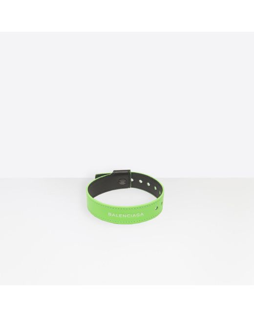 Balenciaga - Green Party Bracelet for Men - Lyst