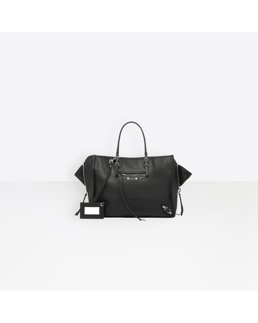 5b0042b0cce Balenciaga - Black Papier B4 Zip Around - Lyst ...