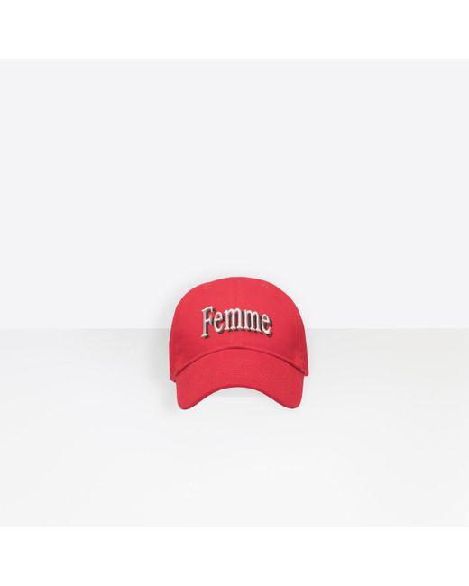 b0235433400 Balenciaga - Red Cap