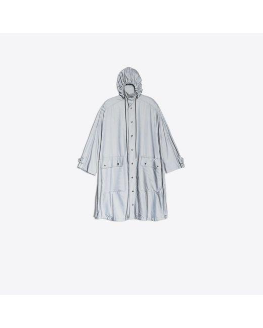Balenciaga - Gray Opera Rain Coat - Lyst