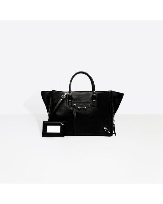 Balenciaga - Black Papier A6 Zip Around - Lyst