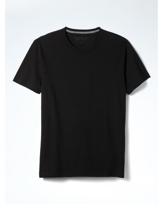 Banana Republic | Black Soft-wash Tee for Men | Lyst