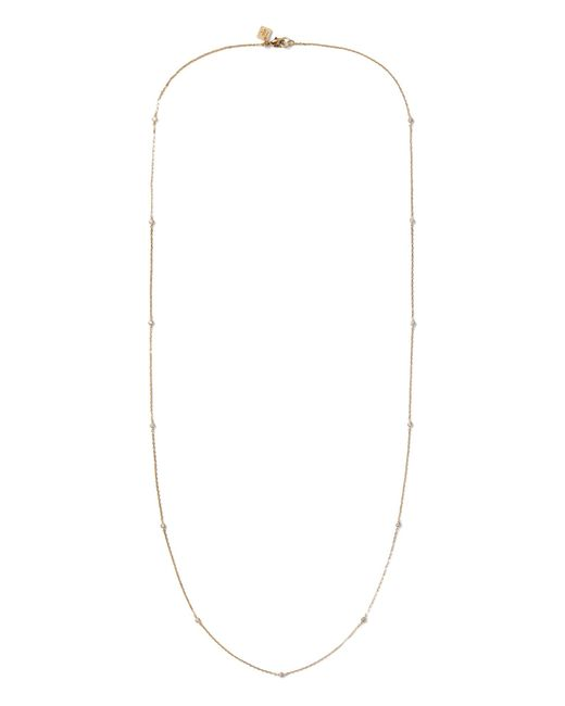 Banana Republic - Metallic Channel Stone Layering Station Necklace - Lyst