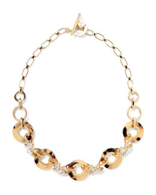 Banana Republic - Metallic Tortoise Rings Necklace - Lyst