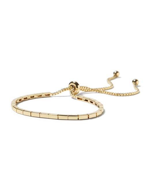 Banana Republic - Metallic Rectangle Slider Bracelet - Lyst