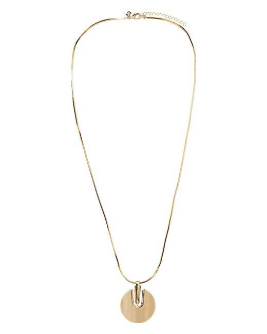 Banana Republic Factory - Metallic Modern Stone Pendant Statement Necklace for Men - Lyst