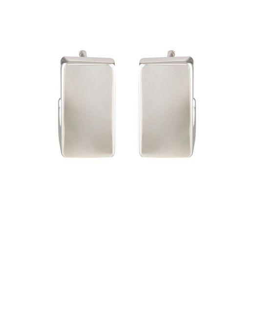 Agmes - White Mini Isa Earrings - Lyst