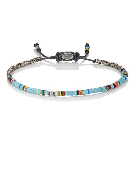 M. Cohen | Blue Rondelle Bracelet for Men | Lyst