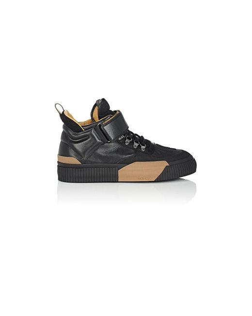 Moncler | Black Cyprien Sneakerboots for Men | Lyst