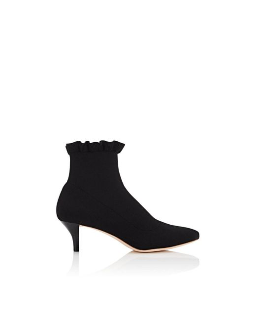 3c98a68512d9 Lyst - Loeffler Randall Kassidy Knit Ankle Boots in Black - Save 30%